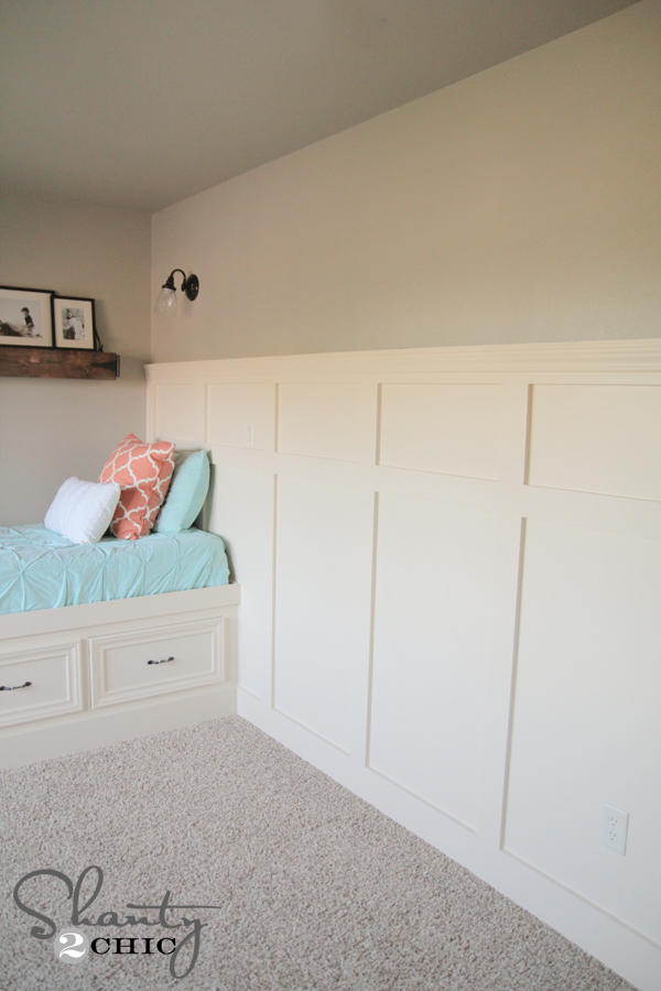 Paneled Walls Pics: DIY Wall Paneling