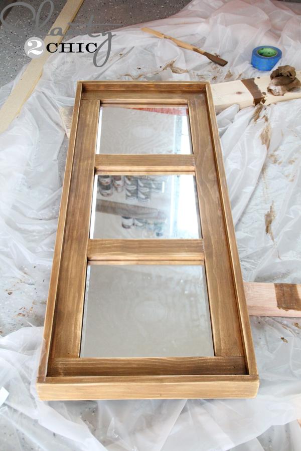 Diy Wooden Mirror Shanty 2 Chic