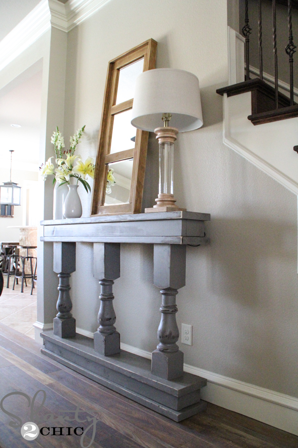 Diy Console Table Shanty 2 Chic