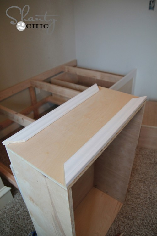 trim for the drawers