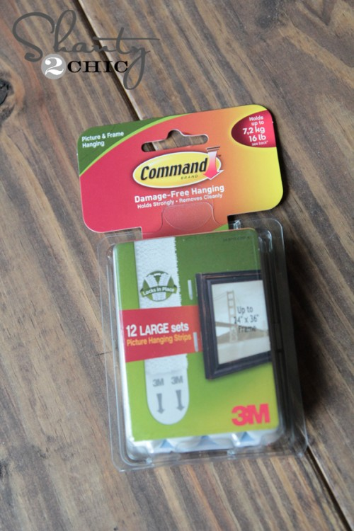 3M Command Strips Picture Hangers