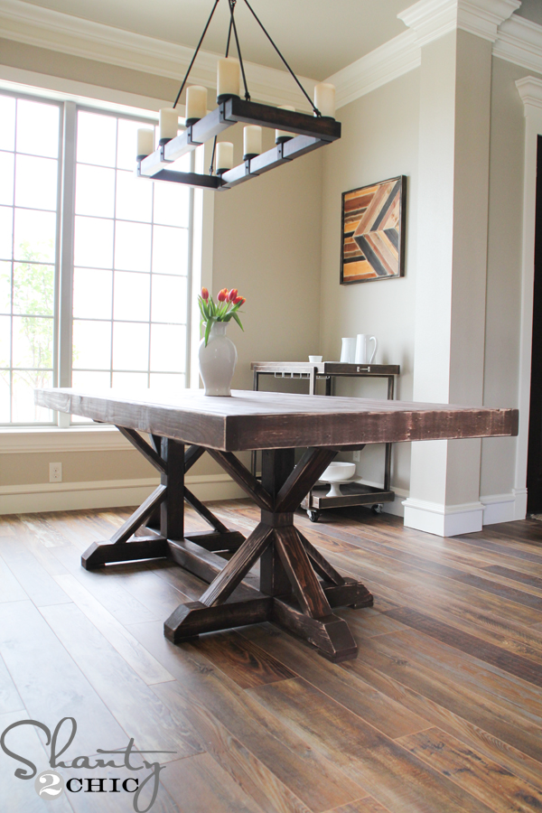 Free Dining Room Table Plans, DIY Kitchen Table Ideas
