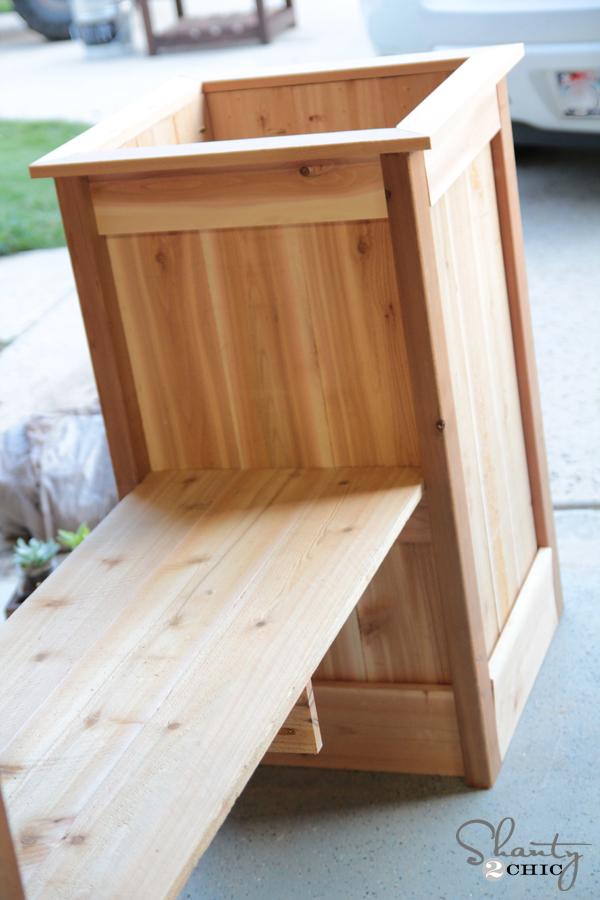 How to build a Planter Box bench & DIY Planter Box Bench - Shanty 2 Chic Aboutintivar.Com