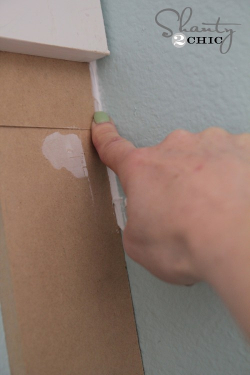 How to caulk tutorial