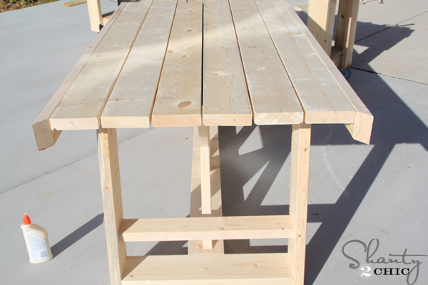 diy outdoor table for 65 shanty 2 chic