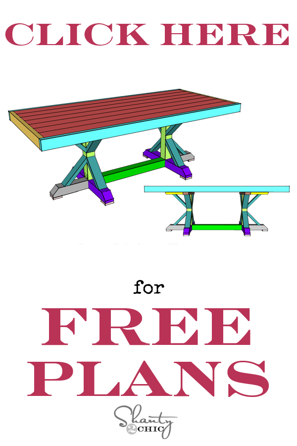Restoration Dining Table Plans