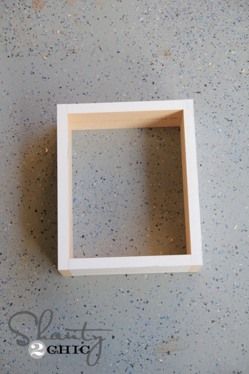 Box for Frame Shelf