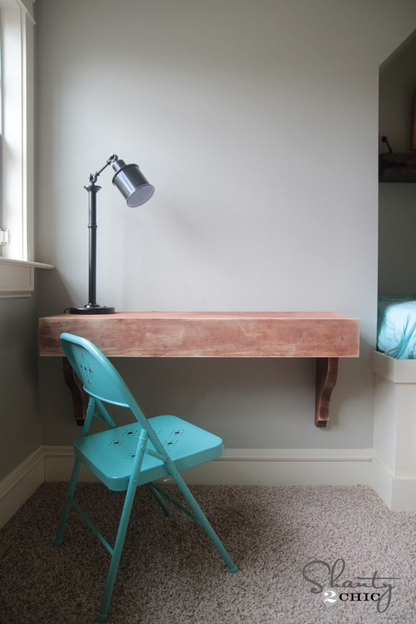 Diy corbel desk diy corbel desk by shanty 2 chic