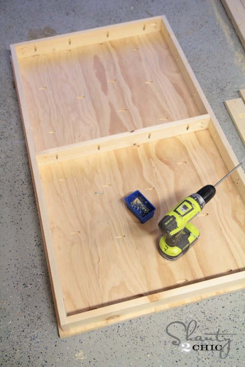 How to build a coffee table top