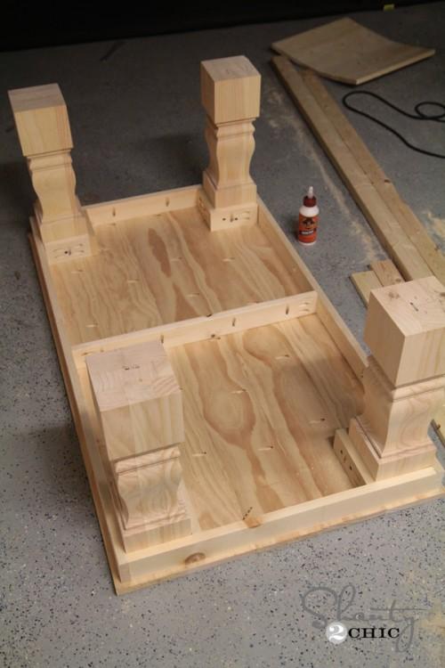 How to build a modern farmhouse table