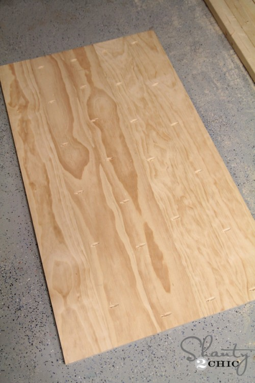 Planked Top for coffee table