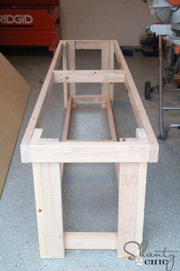 Diy Workbench Free Plans Shanty 2 Chic