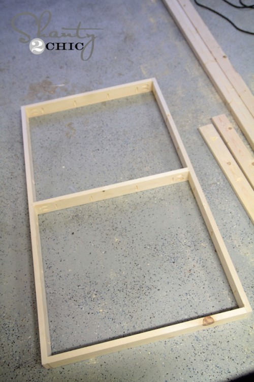 frame for coffee table