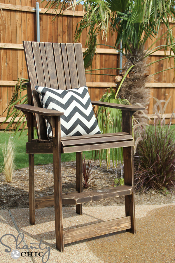 Diy Adirondack Chair Bar Height Shanty 2 Chic