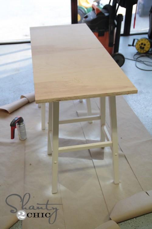 Barstool Desk Tutorial