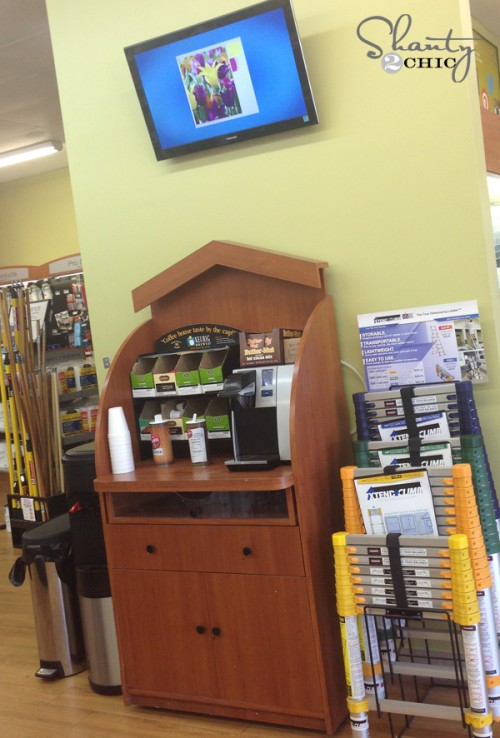 Coffee Bar at Sherwin Williams