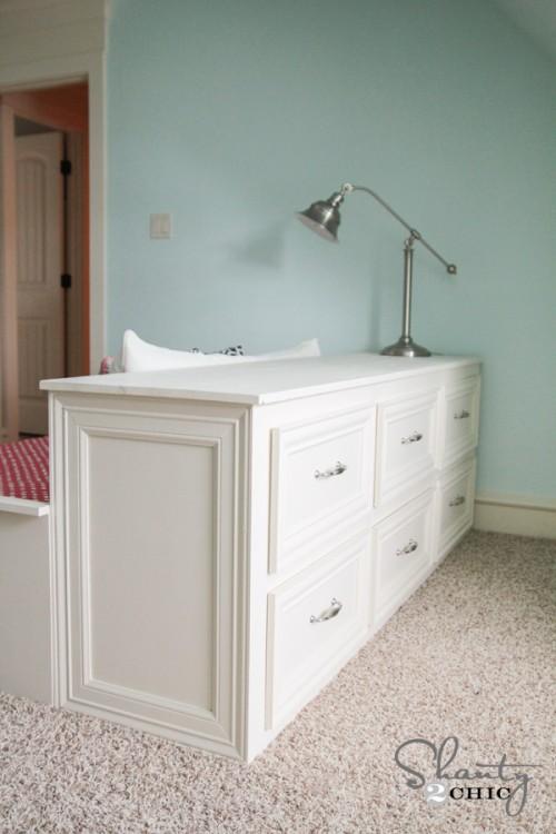 DIY 6 Drawer Dresser - Shanty 2 Chic