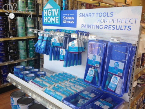 HGTV Home Paint Supplies