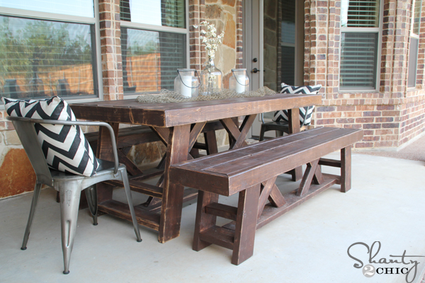 Fresh How to Build an Outdoor Dining Table