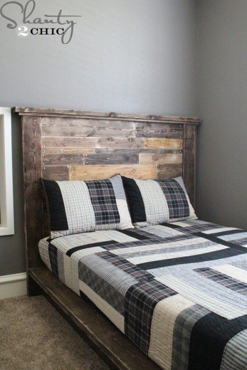 how to build a headboard wood