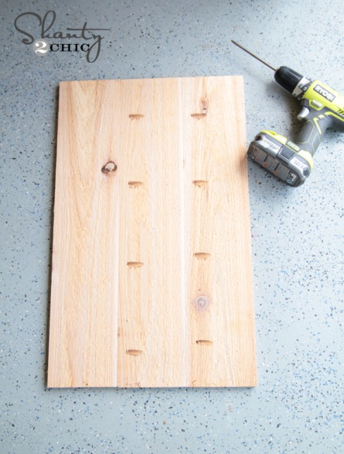 Plank wood using Kreg Jig