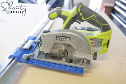 Ryobi Circular Saw and Kreg Rip Cut
