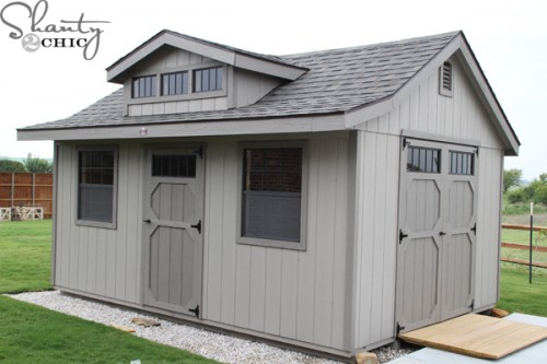 My New Wood Tex Shed And A Fun Behind The Scenes Video