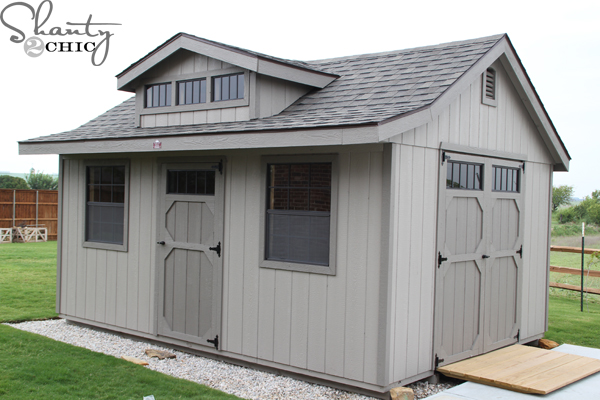Gentil Woodtex Storage Shed
