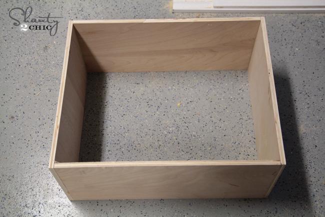 Diy drawer dresser shanty chic