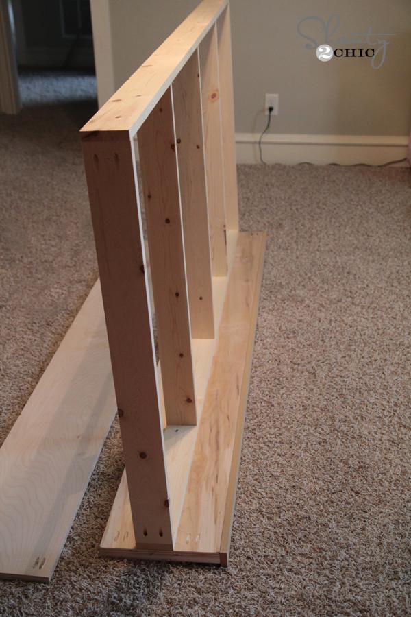 Diy Platform Dresser Bed Shanty 2 Chic