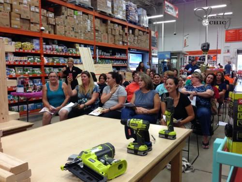 DIH Workshop at Home Depot
