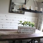 DIY Large Paneled Wall Mirror