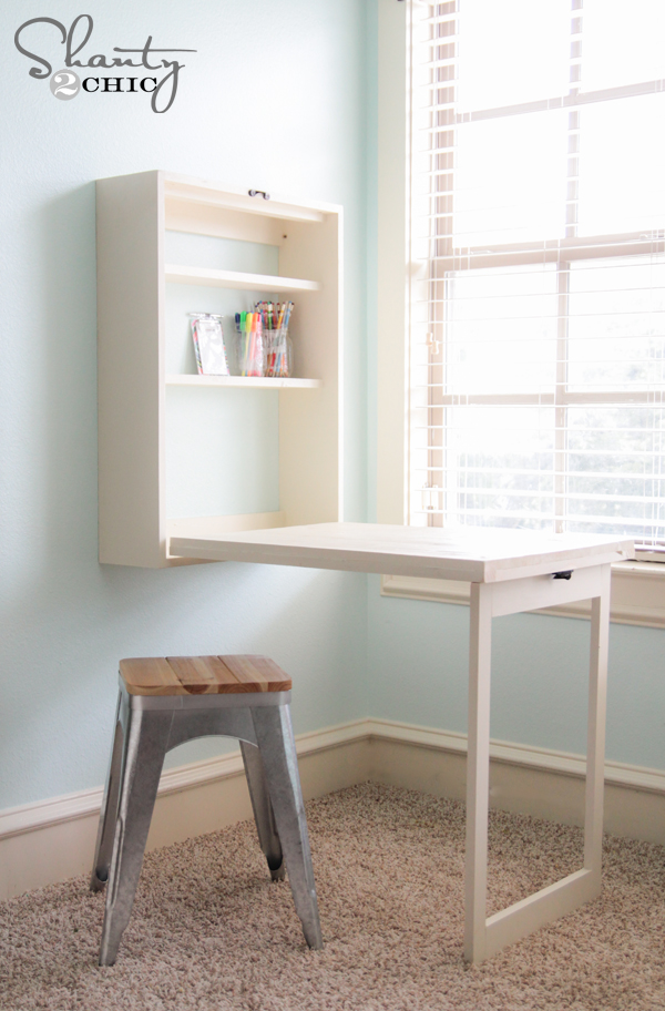Diy Murphy Desk Shanty 2 Chic