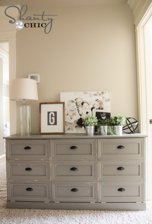 Diy Laundry Basket Dresser Shanty 2 Chic