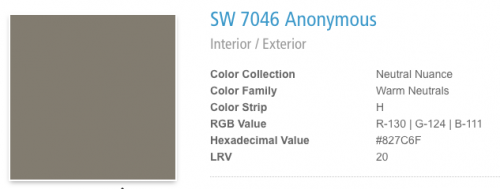 Sherwin-Williams Anonymous