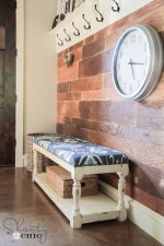 DIY Upholstered Bench!