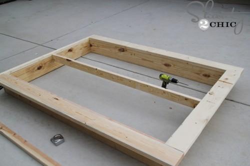 Do It Yourself Home Design: Easy DIY Platform Bed