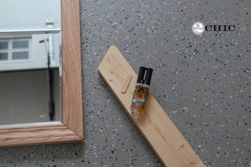 DIY Large Paneled Wall Mirror - Shanty 2 Chic