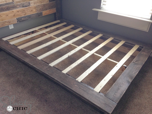 Easy diy platform bed for Simple diy platform bed