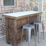 DIY Tiled Bar – Free Plans and a Giveaway!