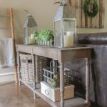 Turned Leg Console Table Free Plans!