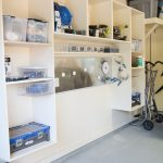 DIY Garage Wall Storage Unit