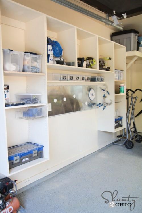 Garage Organization - WOODWORKING PLANS!!