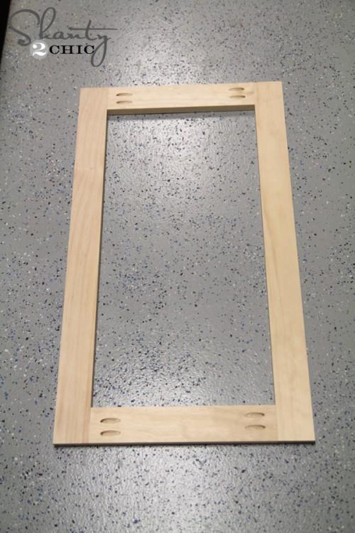 Door Frame for Coffee Cabinet