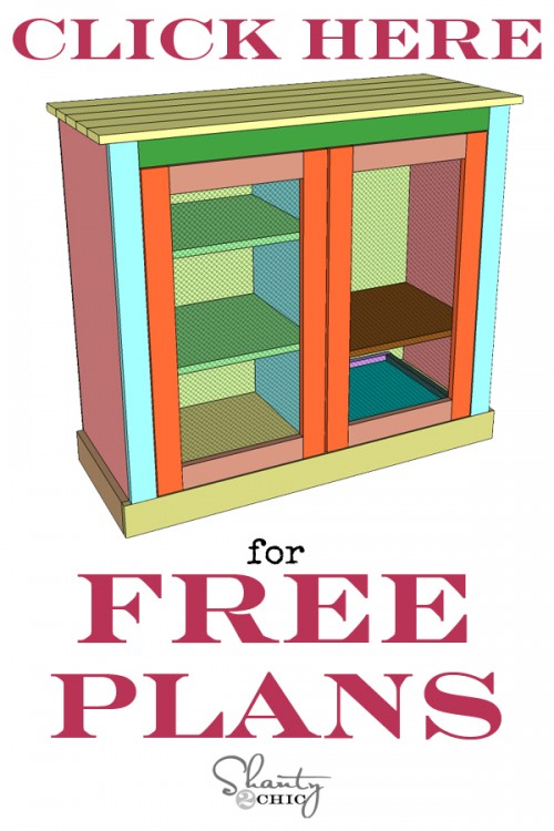 Free Plans Coffee Cabinet