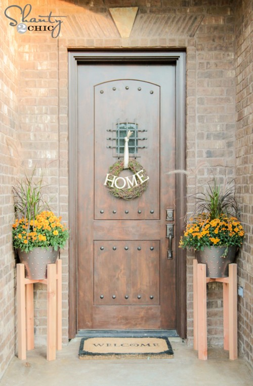 Free Woodworking Plans DIY Plant Stands