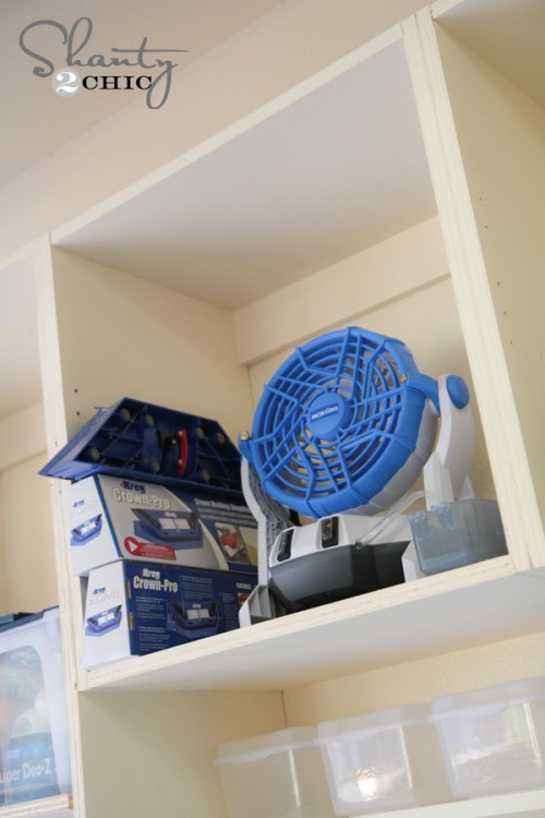 Garage Storage System DIY