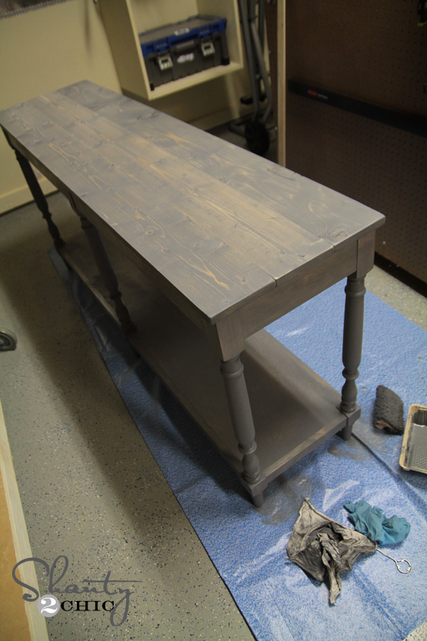 Free Woodworking Plans Diy Console Table