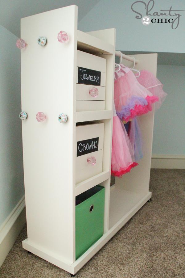Dress Up Storage Cart