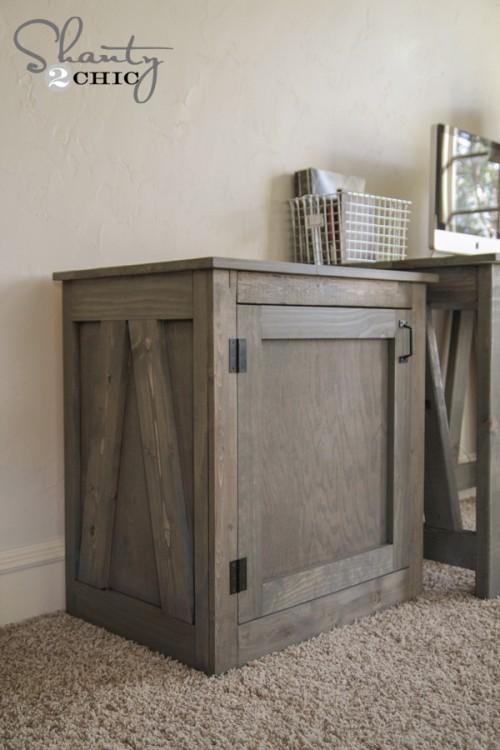 Free Woodworking Plans Diy Desk Or Nightstand